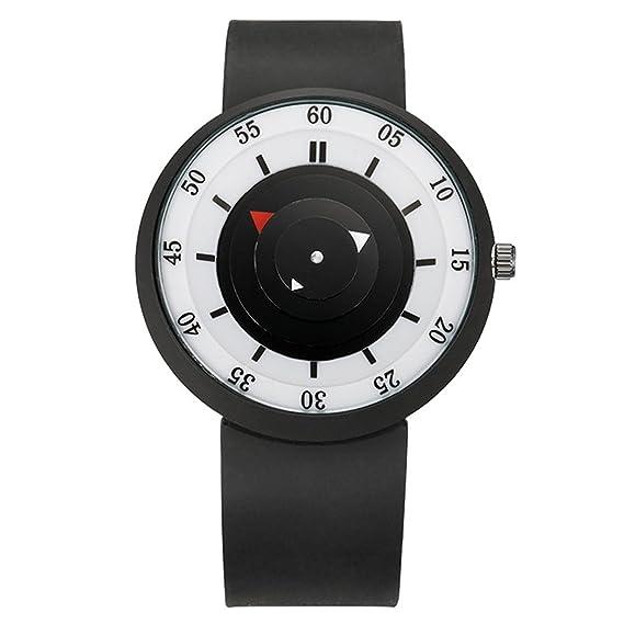 Numeral Escala reloj de pulsera – TOOGOO (R) moda hombres especiales del concepto analógico