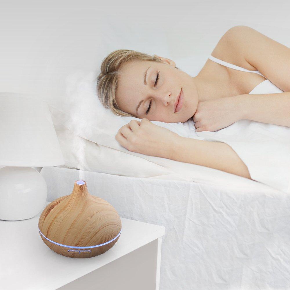 Humidificador Ultrasónico Aromaterapia, Difusor de Aceites Esenciales por solo 40,99€