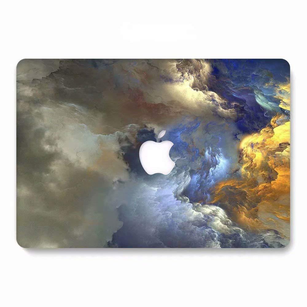 Non Retina AQYLQ Matt Plastic Hard Shell Case Cover for Old Version MacBook Pro 13 with CD-ROM 791 colorful cloud Model A1278 MacBook Pro 13 inch Case
