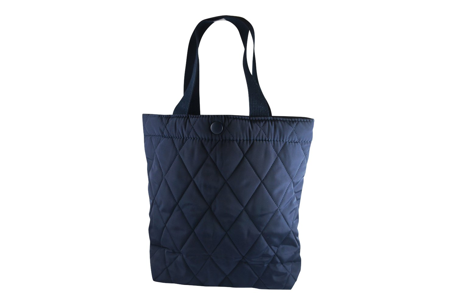 NUVELY Handbags Canvas Outdoor Multipurpose Daily Shoulder Tote Bag (Large, Navy)