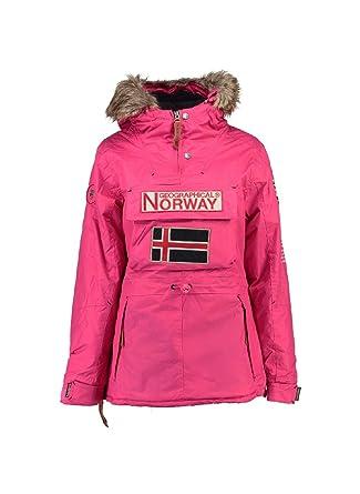 Geographical Norway Chaqueta Mujer (Rose, 4): Amazon.es: Ropa y accesorios