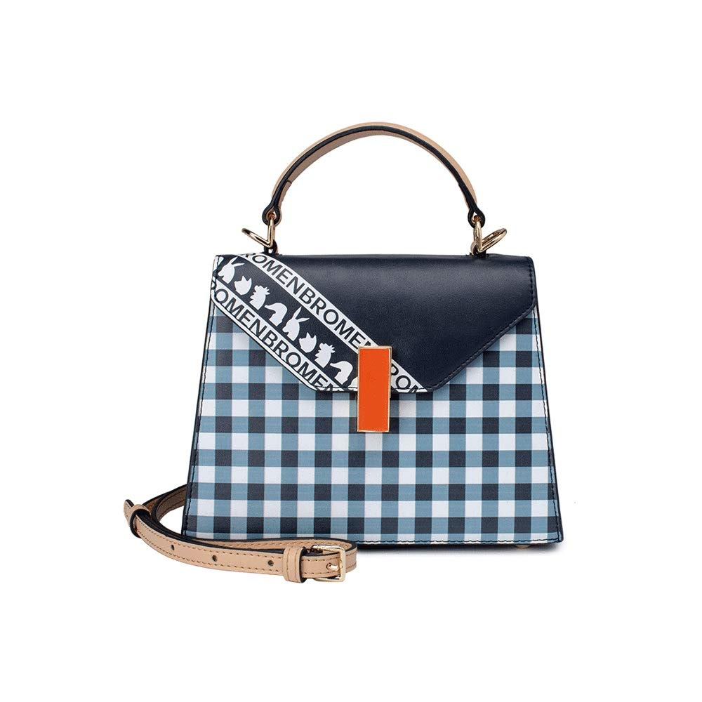Microfiber Color : C DDSS Shoulder Bags Small Fresh Casual Cute trapezoidal Shoulder Bag Slant Zipper Buckle Girl Small Square Bag 5 Colors Optional //-//