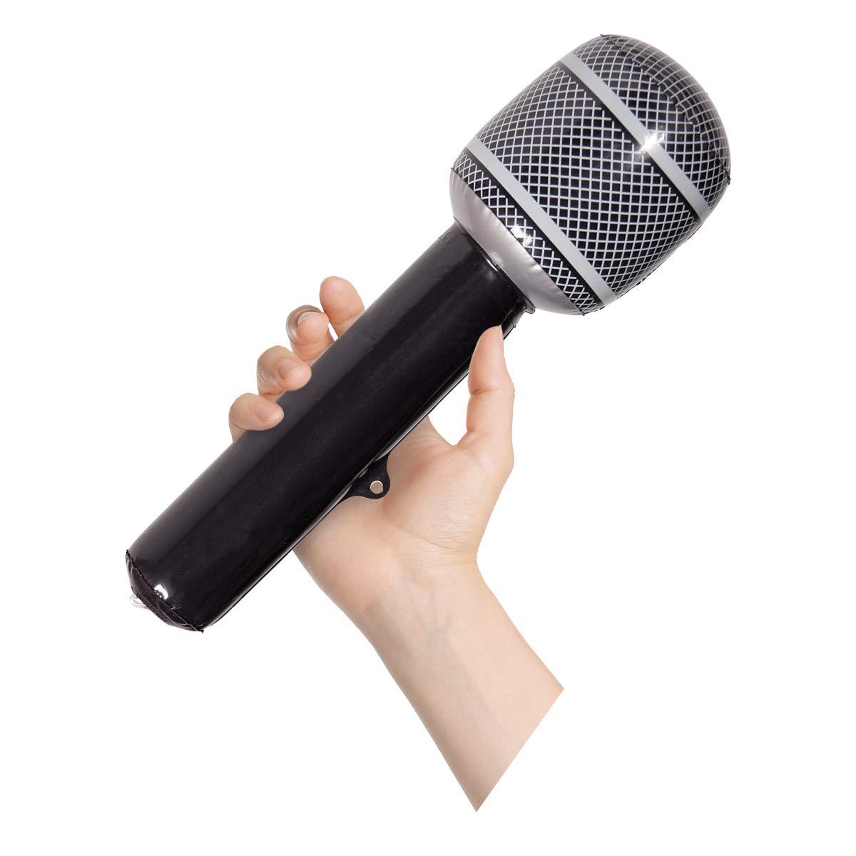 CREATIVE Partido inflable Micrófono Negro: Amazon.es: Juguetes y ...