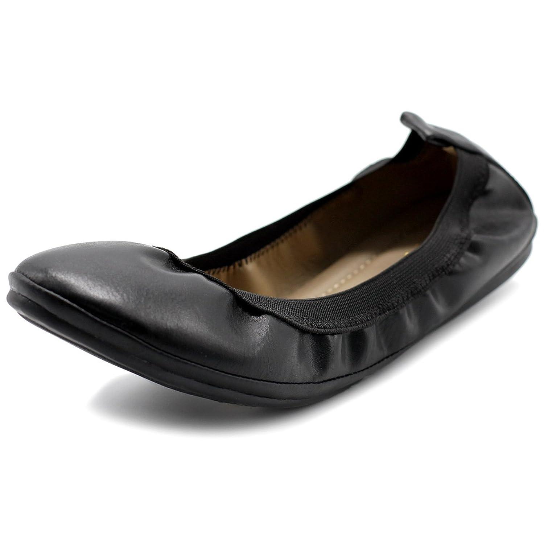 Ollio Women's Shoe Comfort Ballet Flat