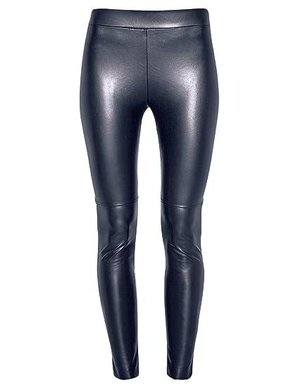 471a02a14d1f4 Wolford Estella Leather Look Leggings Dress Size UK 8 EU 36 Midnight:  Amazon.co.uk: Clothing