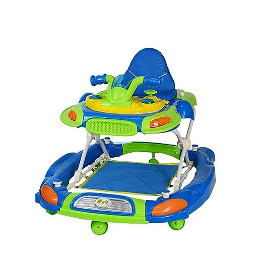 Andador para niños 6/7-18 Meses Baby Anti-Rollover Multifunción ...