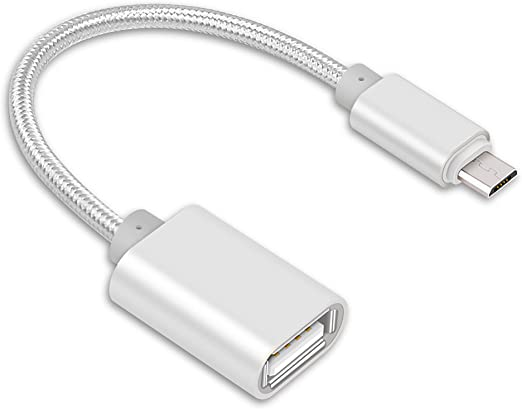 Lucklystar Adaptador Micro USB a USB OTG,Adaptador OTG Enchufe ...