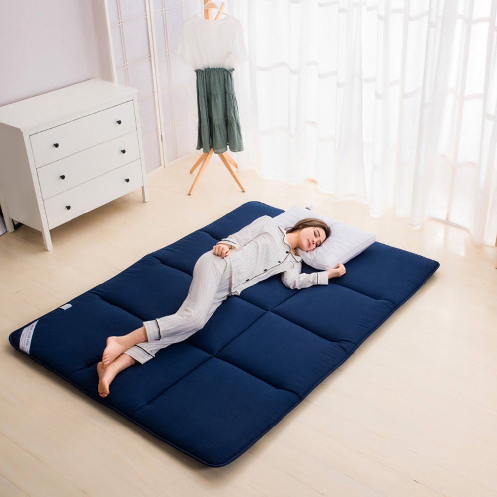 mattress double bed mattress [student dormitory] collapsible tatami mat-C 120x200cm(47x79inch)