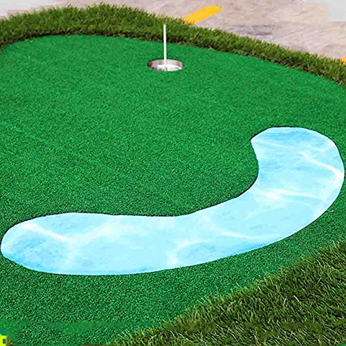 All-In-One Mutil Function Golf Practice Mat----Chipper/Irons/Driver/Putter Practice Mat,4.92FT X 11.48FT by PGM (Image #4)