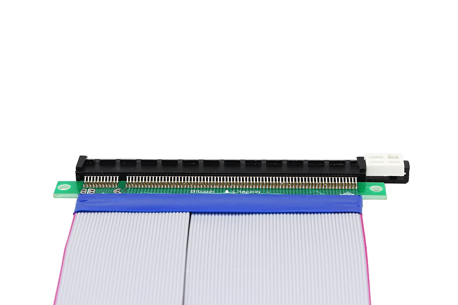 5.3 Inch//13.5cm Total length about 19CM CERRXIAN PCI Express 16x Flexible Cable PCI Express 16x Flexible Cable Riser Card Extension Port Adapter.