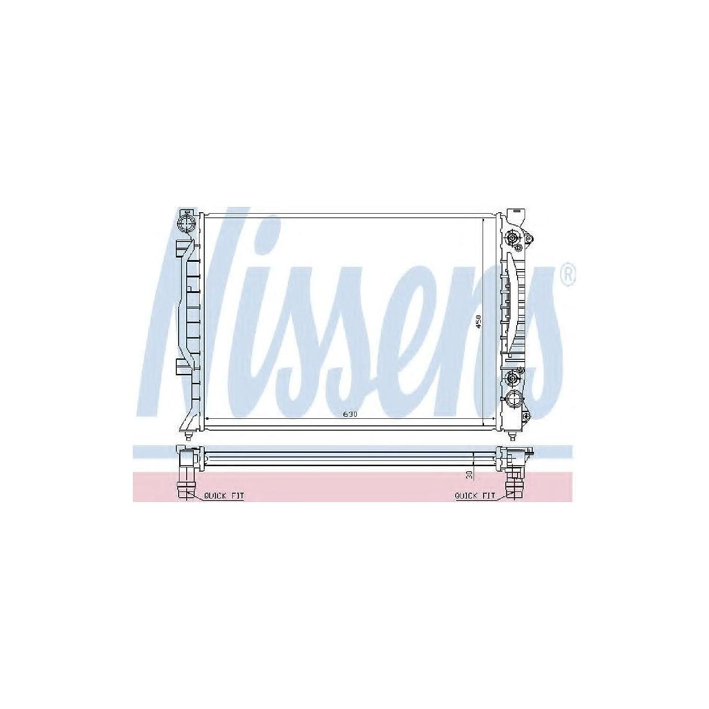 Motork/ühlung Nissens 60423A K/ühler