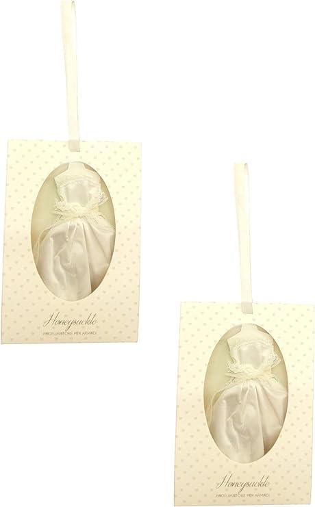 Ducomi® ParFresh - Pack de 2 ambientadores con forma de lencería íntima y lazo incorporado para colgarlos en el armario. Fragancias para prendas y cajones de lencería. Diseño italiano: Amazon.es: Hogar