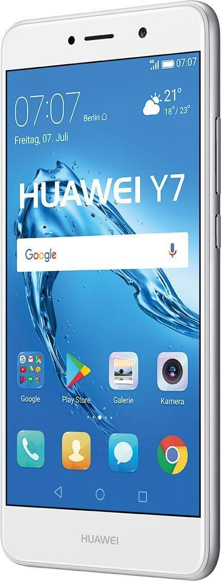 Huawei Y7 SIM Doble 4G 16GB Plata, Color Blanco: Huawei: Amazon.es ...