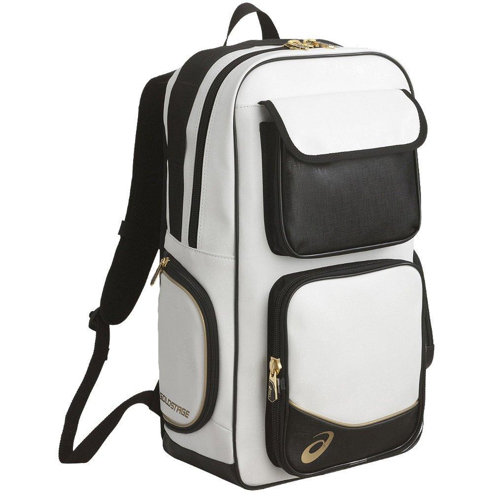 [アシックス]野球 バックパック ゴールドステージ BEA164 F フリーサイズ B01BWA9JKI ホワイト/ネイビー ホワイト/ネイビー