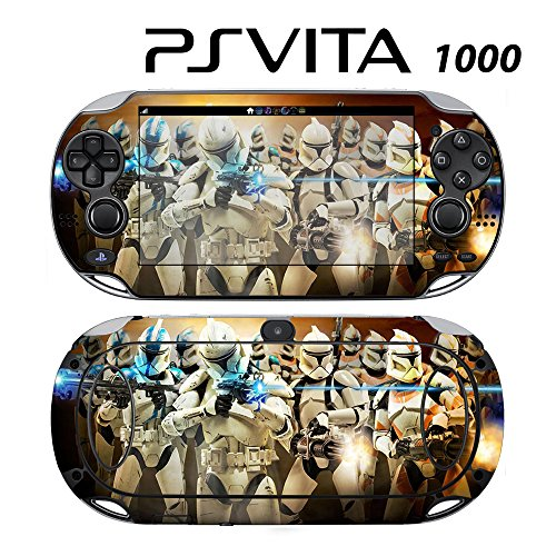 Decorative Video Game Skin Decal Cover Sticker for Sony PlayStation PS Vita (PCH-1000) - Star Wars Clone Trooper -  Decals Plus