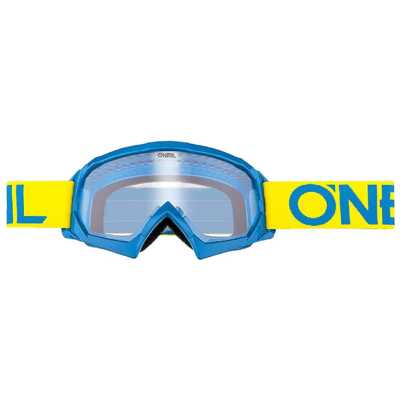 Occhialini da Motocross Argento Oneal B-10 Colore