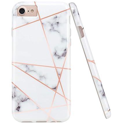 Amazon.com: JAHOLAN - Carcasa de silicona para iPhone 7 ...