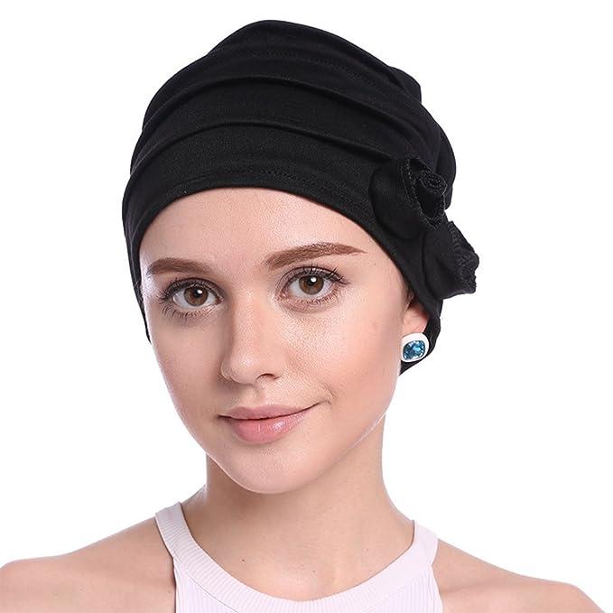 Upsmile Women s Knit Chemo Hat Beanie Scarf 76929ed49022