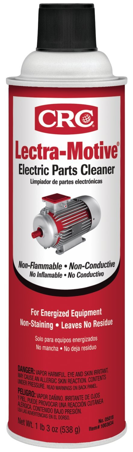 CRC 05018 Lectra-Motive Electric Parts Cleaner - 19 Wt Oz.