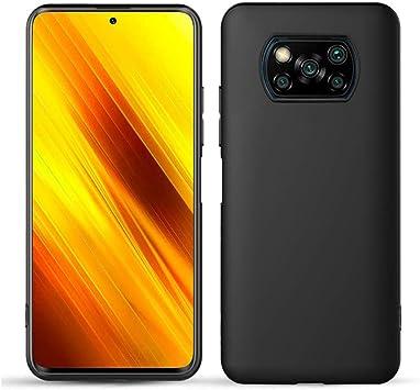 DYIGO Funda para Xiaomi Poco X3 NFC,Hermosa y Elegante Funda para teléfono móvil,Cubierta Protectora Ligera,Suave,Resistente al Desgaste y a Prueba de Golpes (Negro): Amazon.es: Electrónica