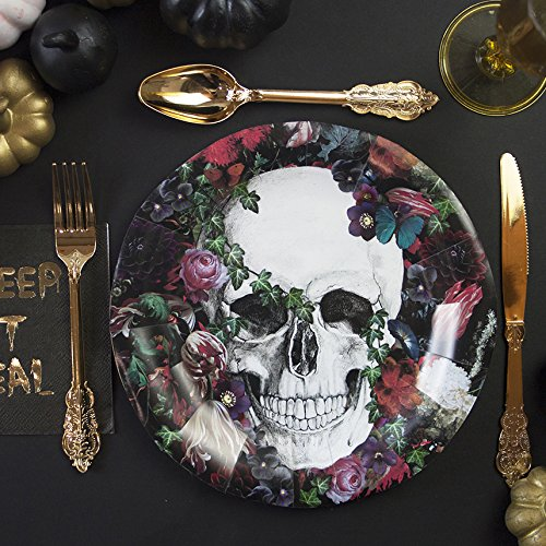 Halloween-Plates-Halloween-Decorations-Party-Supplies-Paper-Plates-Halloween-Skeleton-9