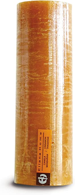 Eliana Home 673025/ 7/x 20/cm /Bougie Rustique Cannelle Mandarine