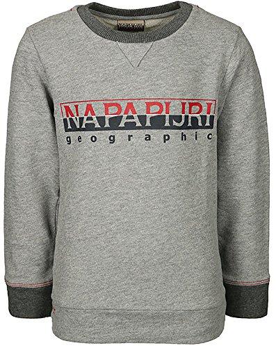 shirt Grey shirt Grey Napapijri Garçon Napapijri Napapijri Sweat Sweat Garçon 6d7xUqwH5