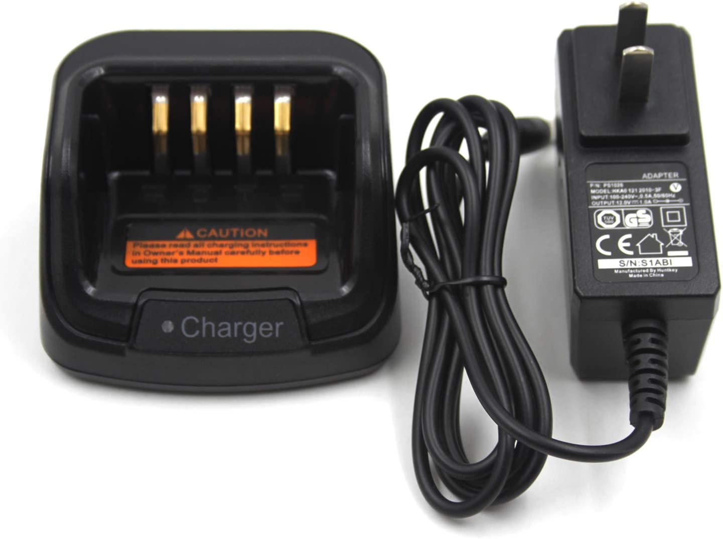 CH10A07 Battery Charger Compatible for Hytera PD782 PD502 PD505 ...
