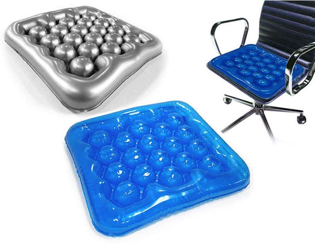 Amazon.com: (Color Gris) Air Cushion Cojín Hinchable silla ...