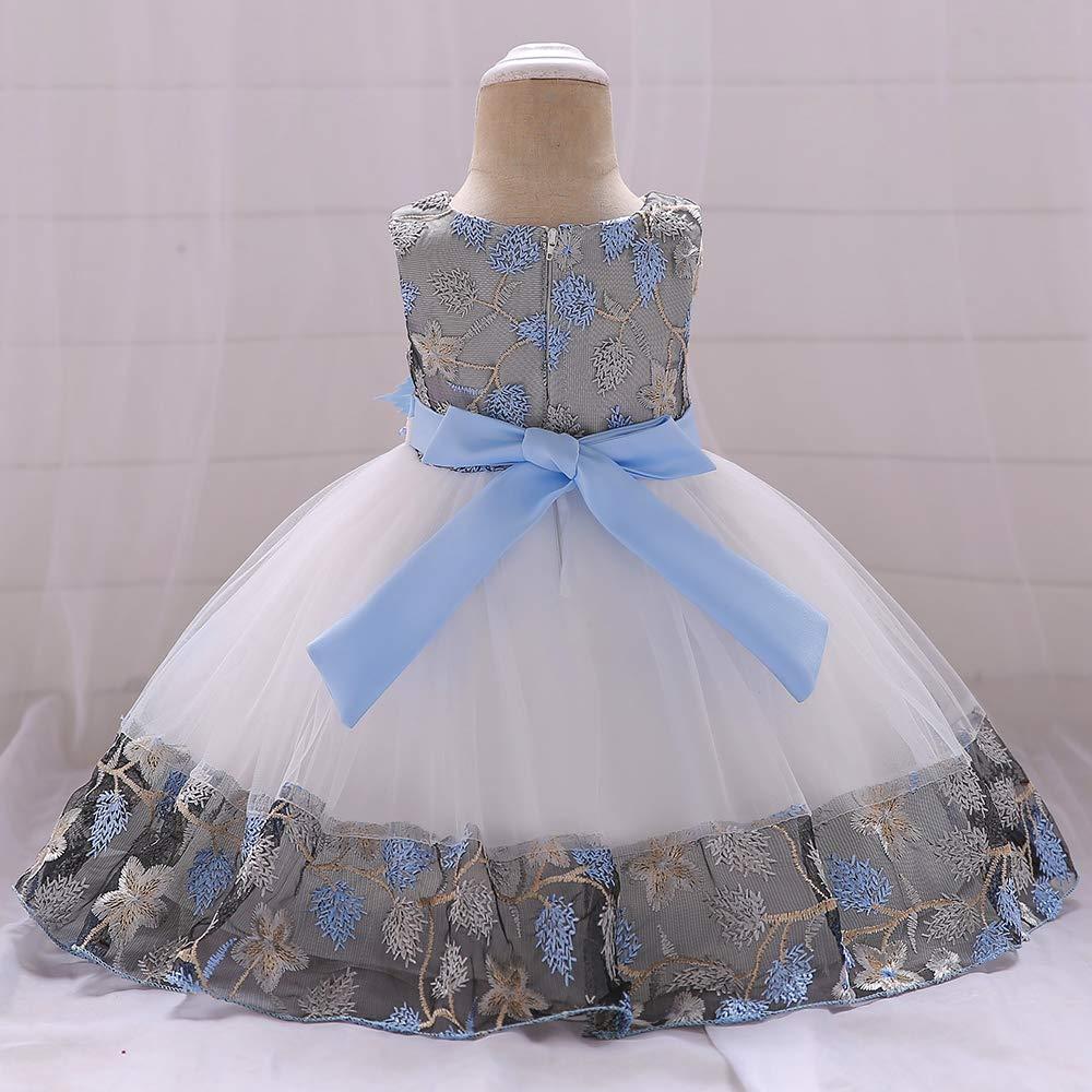 mes amis Princess Formal Kids Toddler Dress Baby Flower Girl Dresses