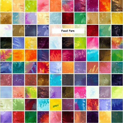Benartex Fossil Fern 5 Quot Charm Pack Fabric Quilting Squares