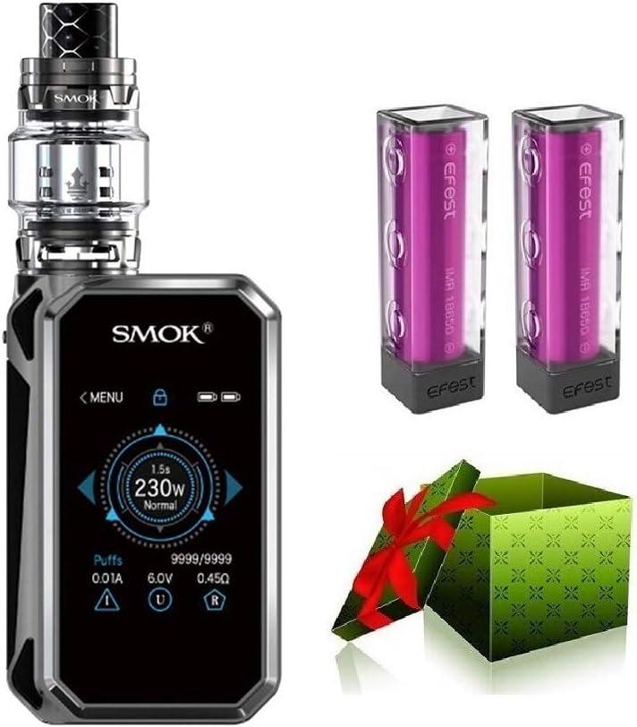 SMOK G-priv 2 230w Luxe Edition E-cigarette Starter Set TC Vape Box Mod con vaporizador de recarga superior TFV12 Prince Tank EU 2ML Pantalla táctil E-Shisha - sin nicotina (pistola de prisma)
