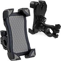 Regenbogen-OUKITEL Fahrrad Telefonhalterung für Smartphones Kompatibel mit Straßen & Mountain-Bikes und Motorräder & Scooter für 4.5 Zoll bis 6.5 Zoll Display