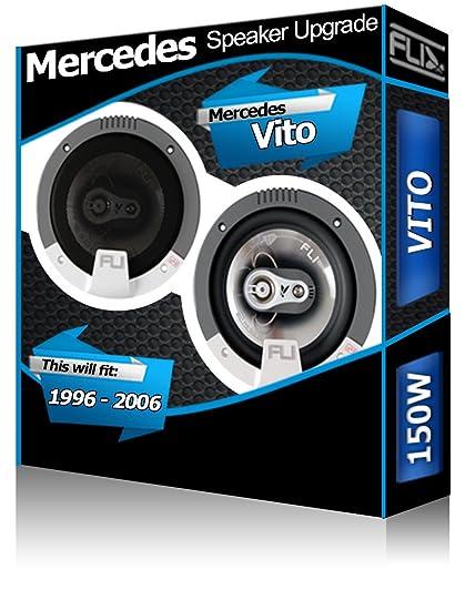Mercedes Benz Vito Front Dash Speakers FLI 4