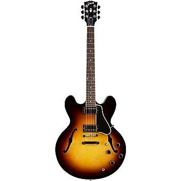 Gibson Memphis esdt14vsnh1 ES-335 semi-hollow-body guitarra eléctrica, figurado Vintage