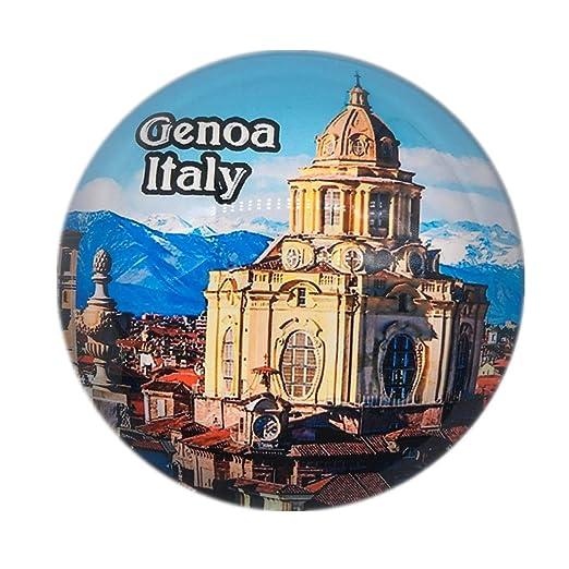 Weekino Souvenir San Lorenzo Cathedral Genoa Italia Imán de Nevera ...
