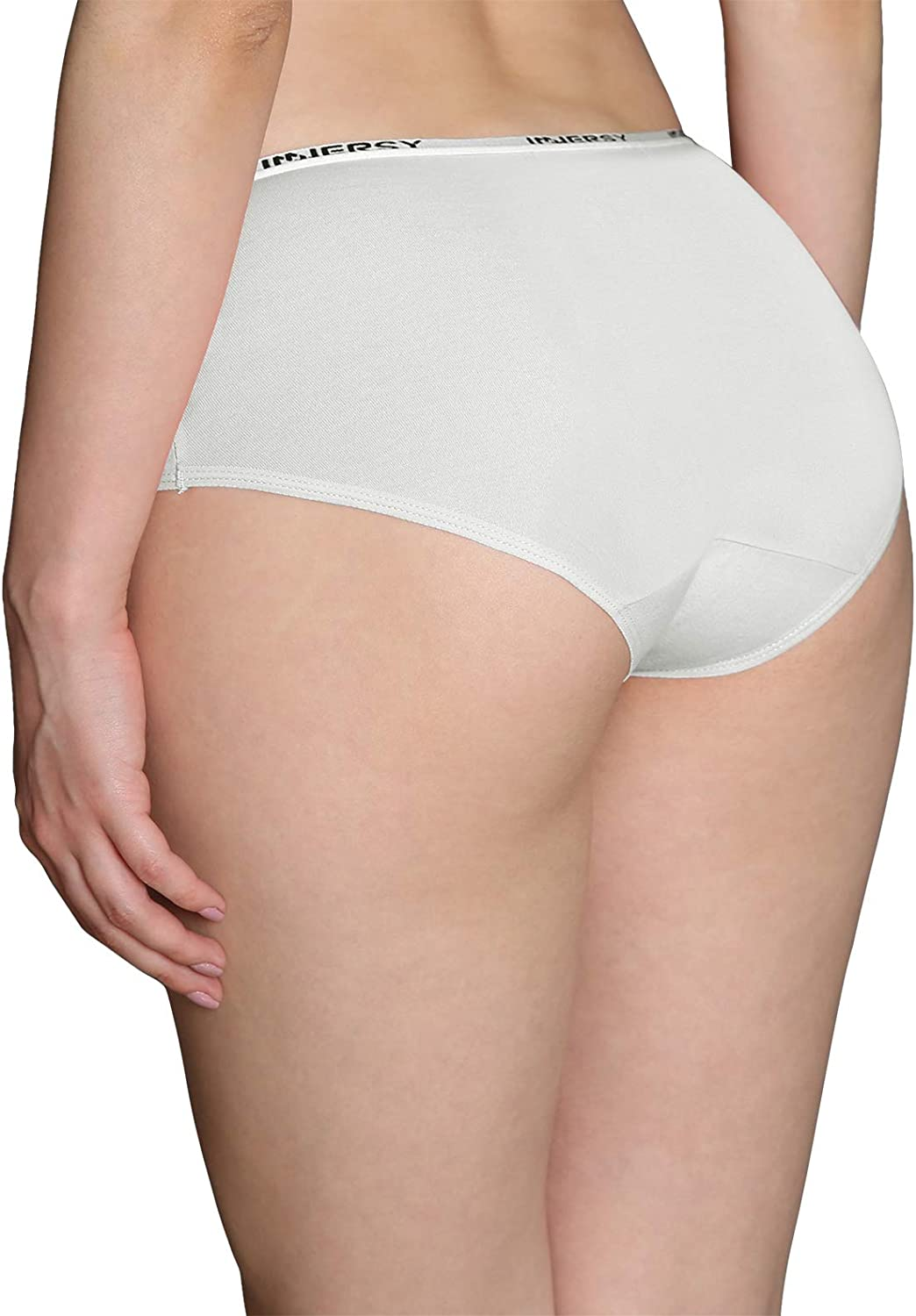INNERSY Underwear for Women Stretch Cotton Knickers Multipack Full Briefs Soft Panties Pack of 6