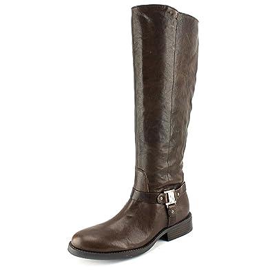 Amazon.com | Vince Camuto Farren Women's Leather Riding Boots ...