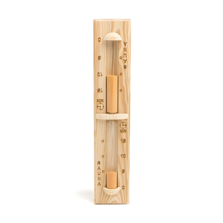 Sauna hourglass, 15 minutes (Pinetta Finland)