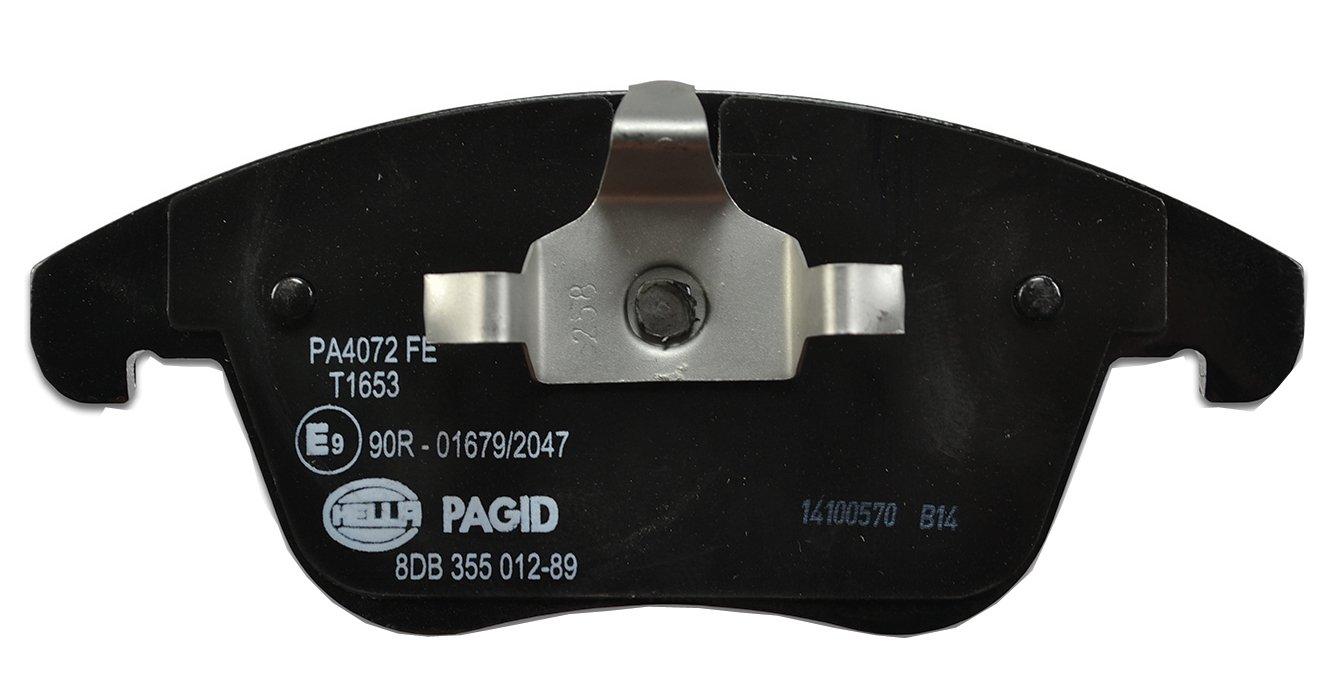 HELLA PAGID 8DB 355 012-891 Kit pastiglie freno, Freno a disco, Assale anteriore Hella KGaA Hueck & Co. 355012891
