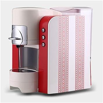 Máquina concentrada Italiana del café de la cápsula Máquina semiautomática de Bombeo Grande del café del Tanque de Agua (Color : Red): Amazon.es: Hogar
