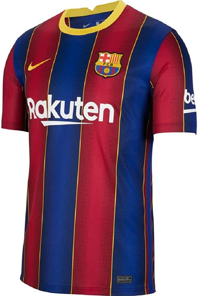 Nike 2020-2021 Barcelona Home Football Soccer T-Shirt Jersey