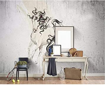3D Wallpaper Nordic Cemento Abstracto Pared de Fondo Paredes ...