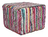 Better Trends / Pan Overseas Ronald Pouf, 17 x 17'', Multicolor