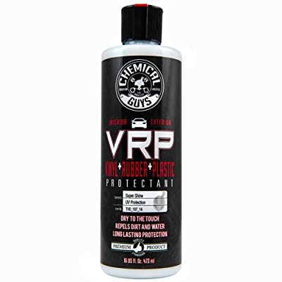 Chemical Guys TVD_107_16 V.R.P. Vinyl, Rubber and Plastic Non-Greasy Dry-to-the-Touch Long Lasting Super Shine Dressing for Tires, Trim and More (16 Oz): Automotive