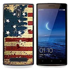 - GRUNGE VINTAGE USA FLAG - - Monedero pared Design Premium cuero del tir???¡¯???€????€????????????¡¯