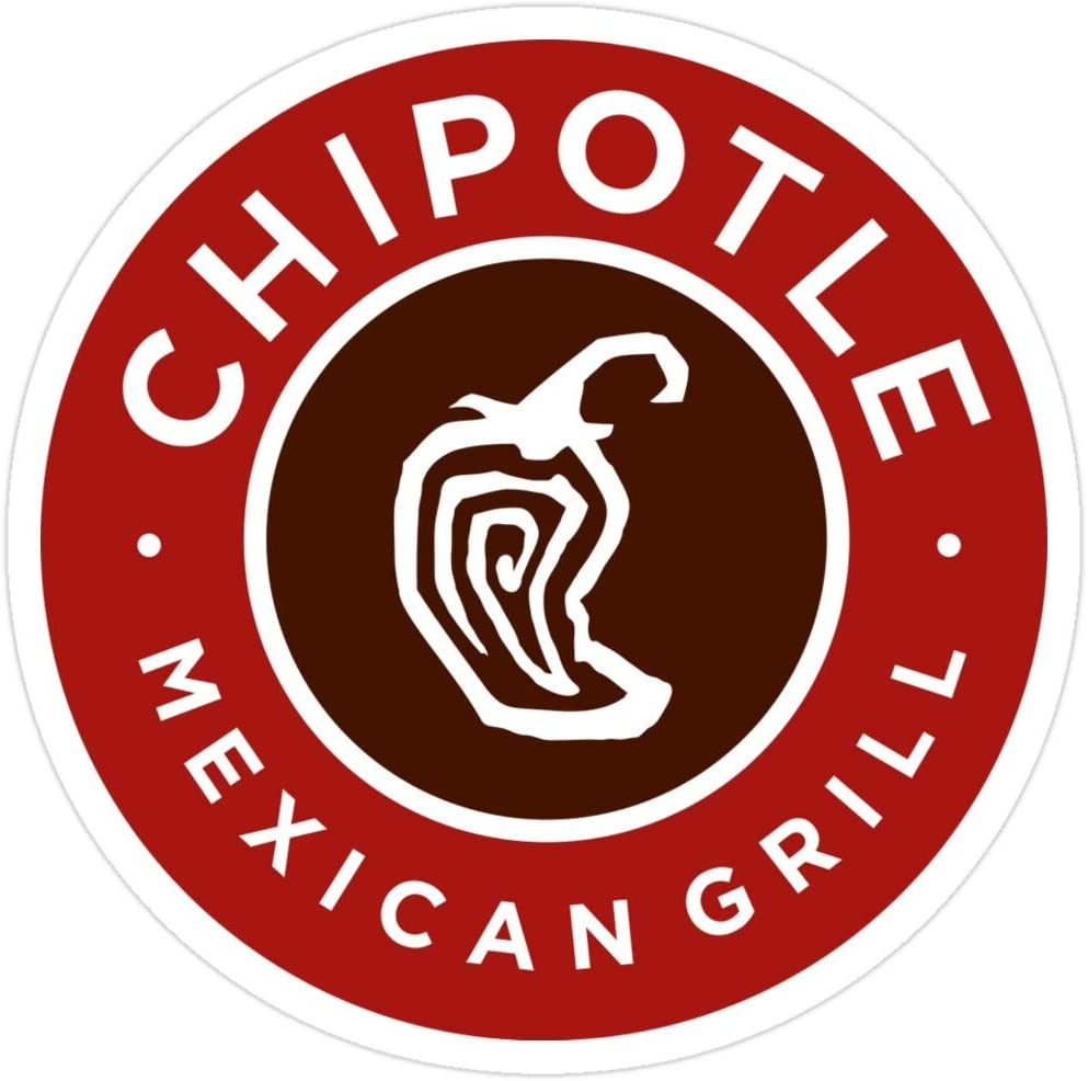 Story Storm Store Chipotle Logo Stickers (3 Pcs/Pack)