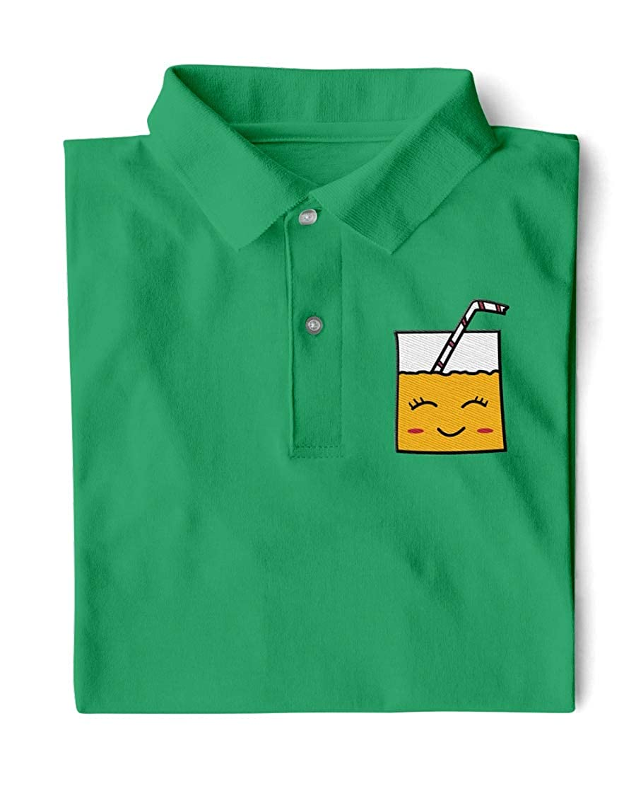 Luis Dubons TS Smiley Juice Classic Polo Kelly Green L