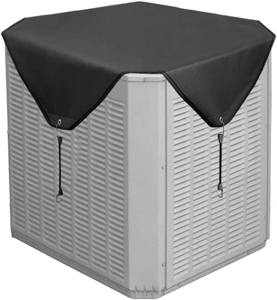 AC Cover for Central Units Heavy Duty Winter Top Foozet Air Conditioner Cover for Outside Units 28 x 28 inches