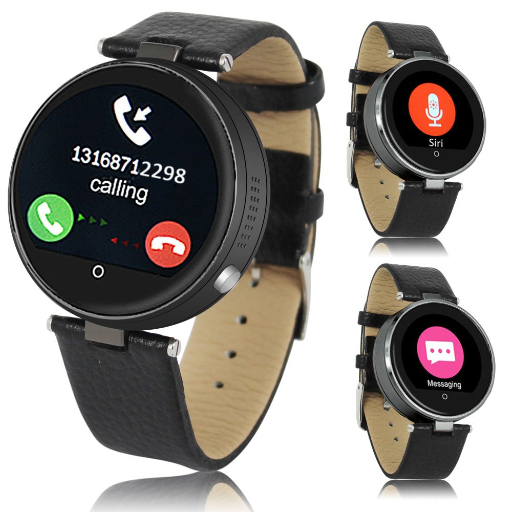 Indigi Bluetooth Smart Watch Metal Case for iOS iPhone 6s Android Galaxy S6 Edge Note 5